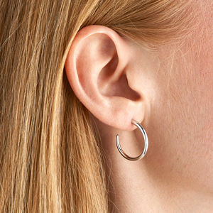 Solid Hoop Earrings