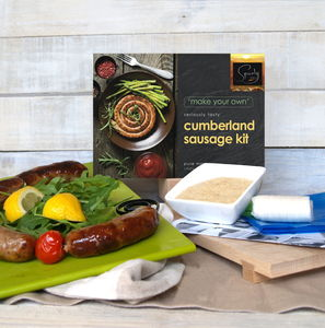 Make Your Own Cumberland Sausages Kit - summer sale