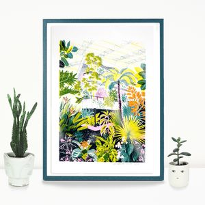 Barbican Conservatory Screen Print - nature & landscape