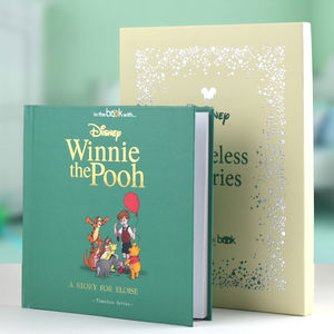 Personalised Timeless Winnie The Pooh Book - new in home