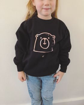 Kids Christmas Bear Jumper