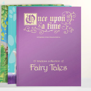Personalised Gift Boxed Book Of Fairy Tales