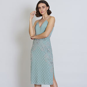 Frances Cami Midi Pencil Dress