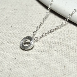 Small Silver Link Necklace - necklaces & pendants