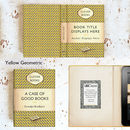 Customised Yellow Penguin Themed Kindle eReader Case