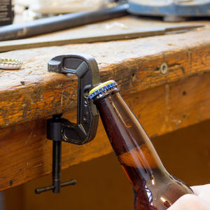 Clamp Bottle Opener - gifts for fathers