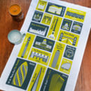 London Places Tea Towel