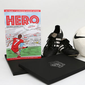 Create Your Own Personalised Football Comic Book - our favourite personalised gifts