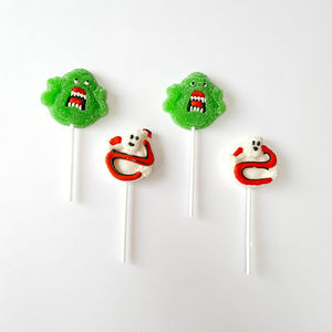 Set Of Four Scary Gummy Pops