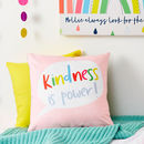 Children's Rainbow Quote Cushion