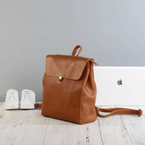 Eazo Leather Backpack - women's accessories