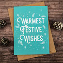 Festive Wishes Christmas Card