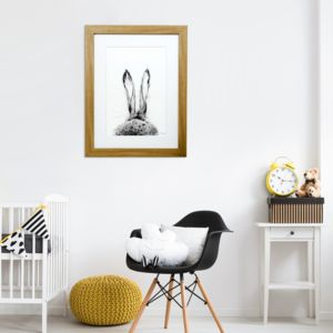 Fine Art Hare Print 'The Runners One'