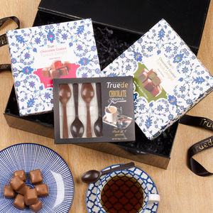 Chocolate Coated Turkish Delight And Spoon Gift Set