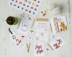 Personalised Woodland Activity Bundle