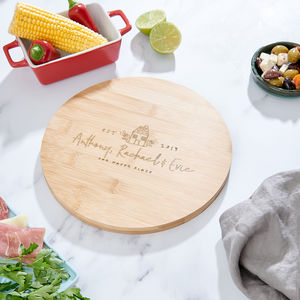 Personalised New Home Chopping Board