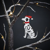 Dalmatian Christmas Tree Decoration - christmas decorations
