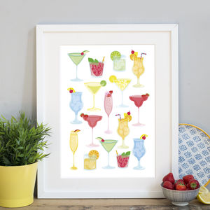 Cocktails Print - view all new