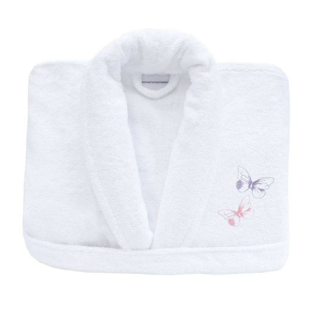 Butterflies Personalised Bath Robe Collection