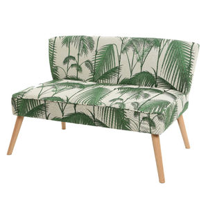 Palm Leaf Upholstered Sofa - view all new