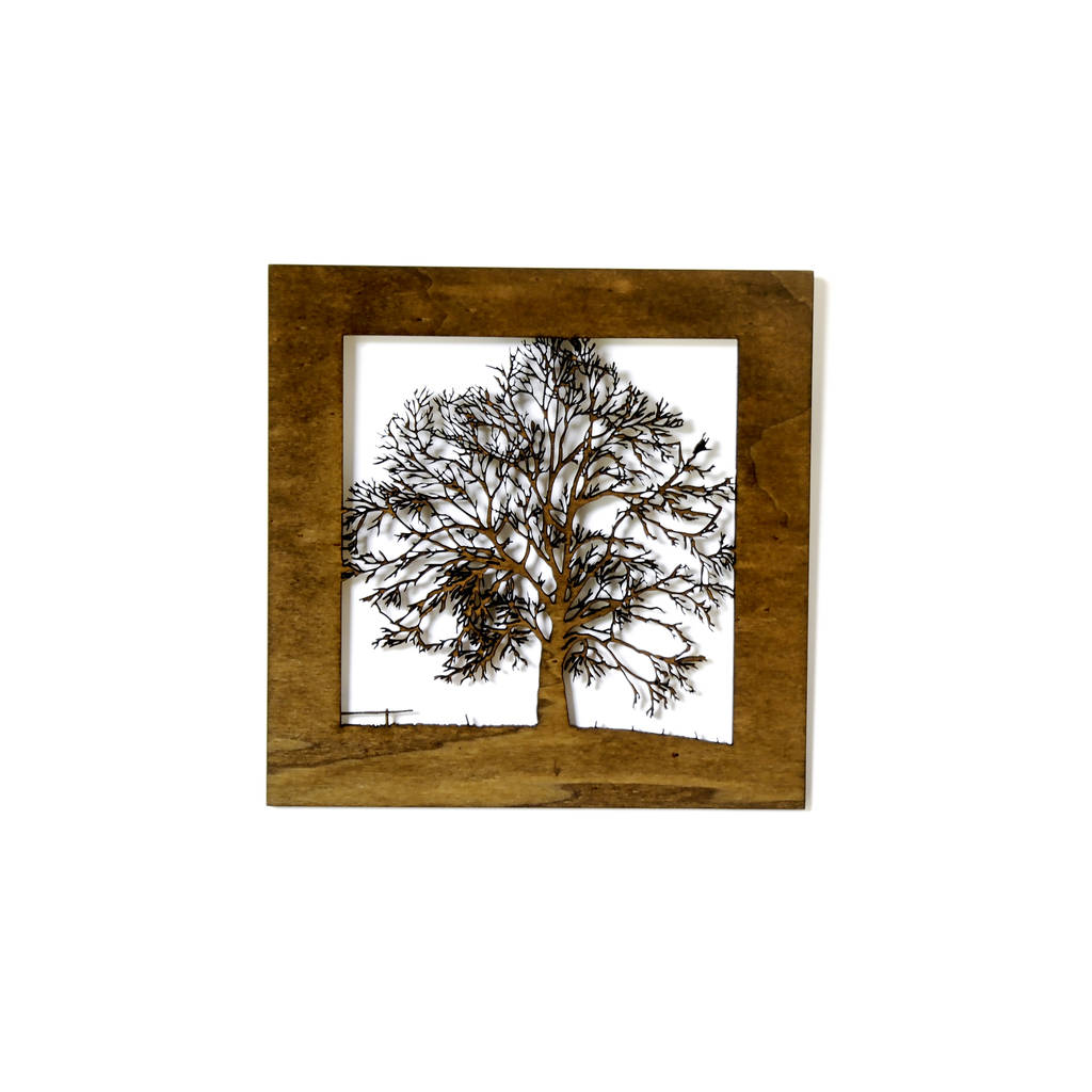 Small wood tree wall art by for me for you designs for Small wall art