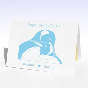 Mother's Penguins Mother's Day Card