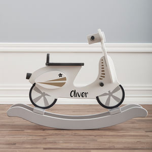 Personalised Rocking Scooter - children's room