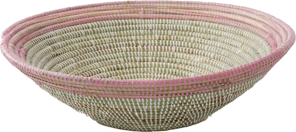 Alibaba Fruit Bowl With Coloured Edge Large Ast6