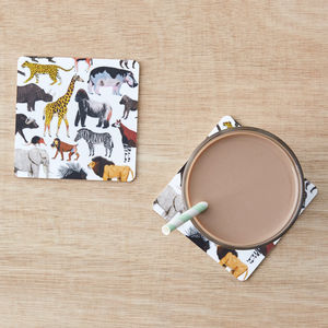 Animal Coasters Set Of Two