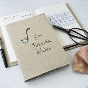 Personalised Recipe Journal - planners & record books
