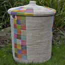 Ethnic Alibaba Laundry Basket Multi Small Apl/Mw
