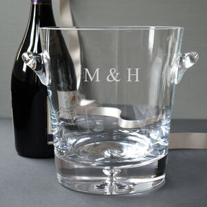 Glass Champagne Cooler