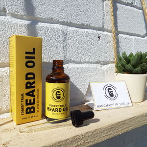 All Organic Forest Trail Beard Oil Natural And Vegan