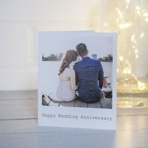 Retro Style Photo Greetings Cards - wedding cards