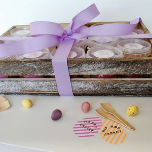 Easter Edible Cookie Dough Gift Box - cakes & sweet treats