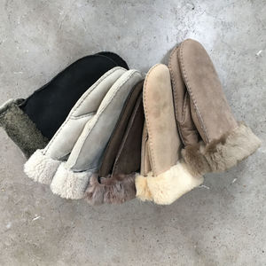 Sheepskin Mittens - gloves