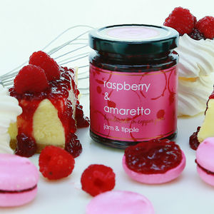 Raspberry And Amaretto Jam - picnic & bbq essentials