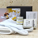 Foot care gift pack with peppermint soap