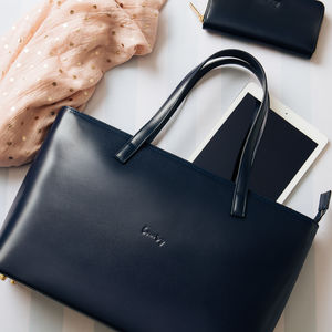 Leather Tote Bag - gifts for her