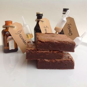 Chocolate Boozy Brownie Subscription