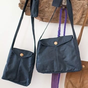 Dog Walking Bag Small Navy