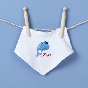 All At Sea Bandana Bib