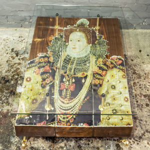 Queen Elizabeth I Reclaimed Coffee Table