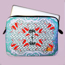 Flamingo Print Laptop Case In Gift Bag