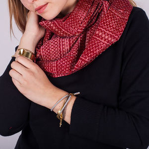 Snood Infinity Scarf Fair Trade From Mexico - scarves