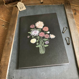 Hand Illustrated 'Flowers By Post' Notelet Card Set