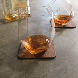 Personalised Tilting Glasses - gifts for him