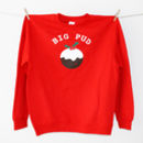 'Big Pud' Christmas Jumper