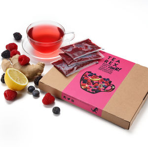 Fresh Blackerry, Blueberry And Raspberry Tea - brand new partners