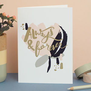 'Always And Forever' Card